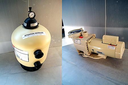 ろ過装置・ポンプ・ユニット販売・施工
